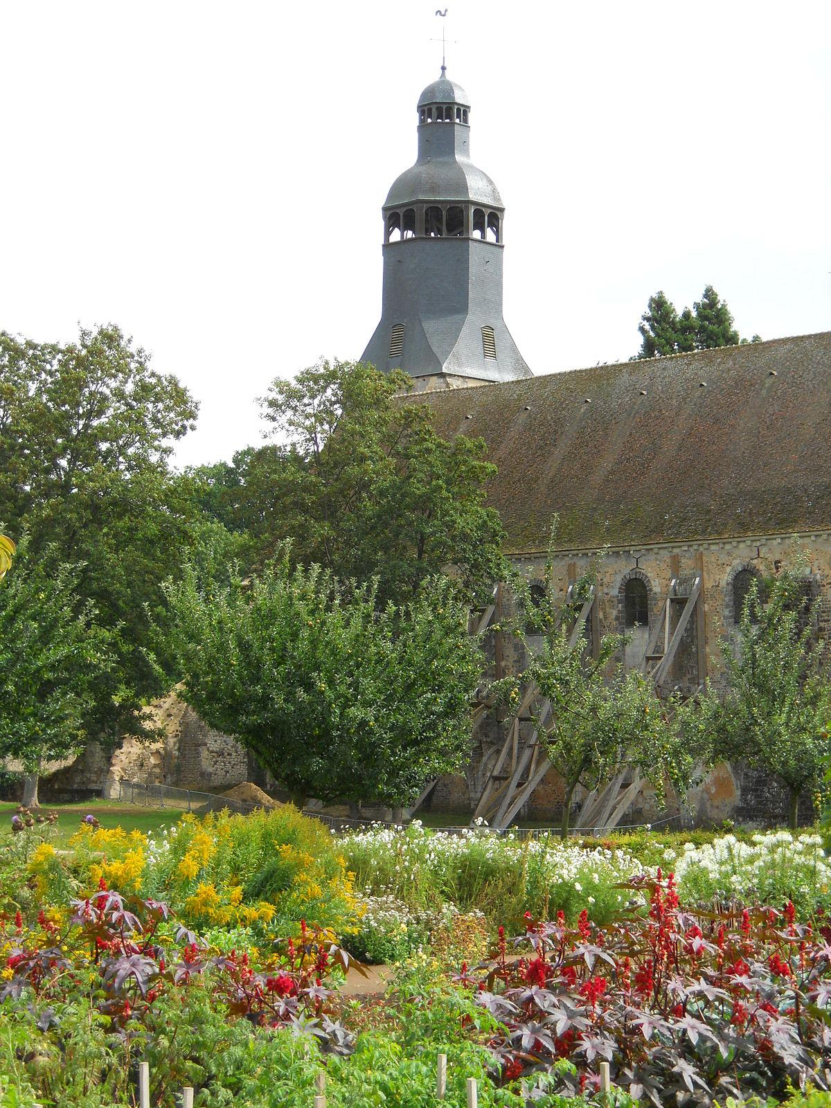 Abbaye De La Sainte-Trinité De Tiron — Wikipédia encequiconcerne Portillon De Jardin D Occasion