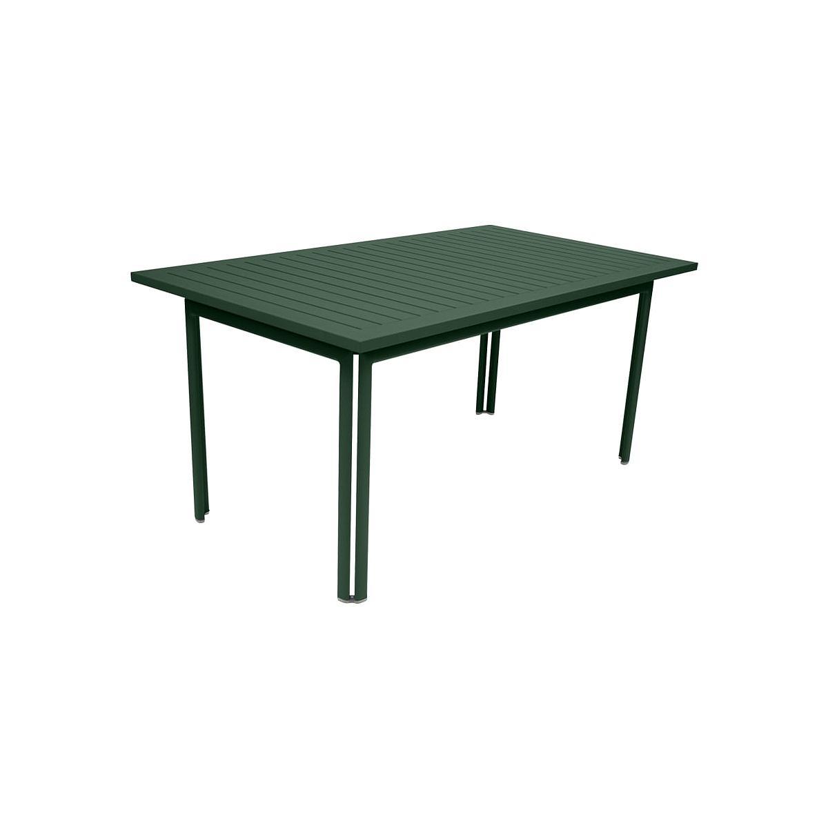 Abitare-Living.lu   Table De Jardin Costa Fermob 160X80Cm ... concernant Table De Jardin Verte