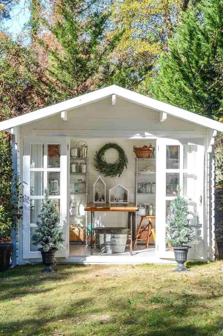 Abri De Jardin -23 Idées Pour Mieux Utiliser Votre Cabane ... pour Petit Abris De Jardin