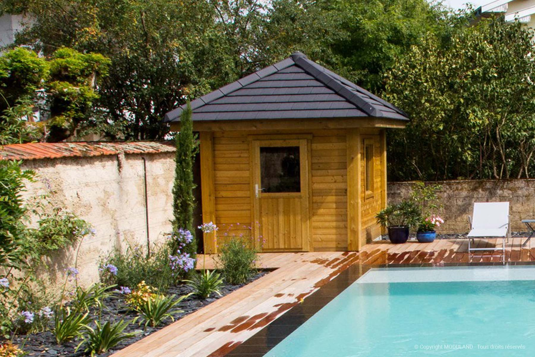 Abri De Jardin 4 Pentes Montpellier | Moduland concernant Abri De Jardin Vannes