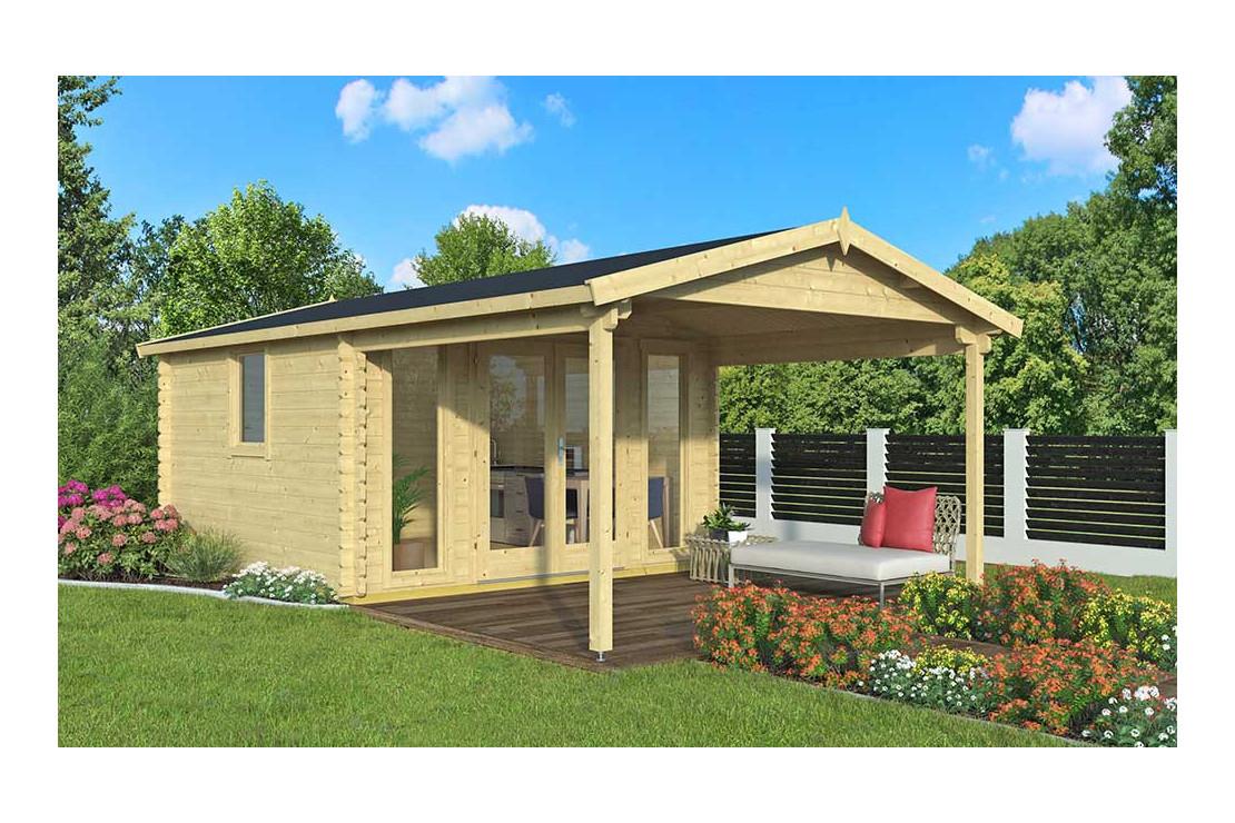 Abri De Jardin Angers 44 Mm - 12,3M² Intérieur + 10,1M² à Cabanon De Jardin Pas Cher