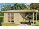 Abri De Jardin Annecy 4 28Mm - 7,3M² Intérieur + 5,2M² concernant Cabane De Jardin Habitable