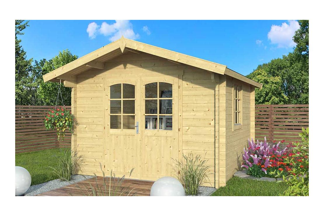 Abri De Jardin Arcachon 44 Mm - 8,5M² pour Abri De Jardin Une Pente
