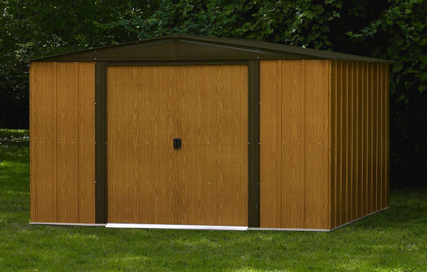 Abri De Jardin Arrow Wl1010 Direct Usa encequiconcerne Abri De Jardin Metal Imitation Bois
