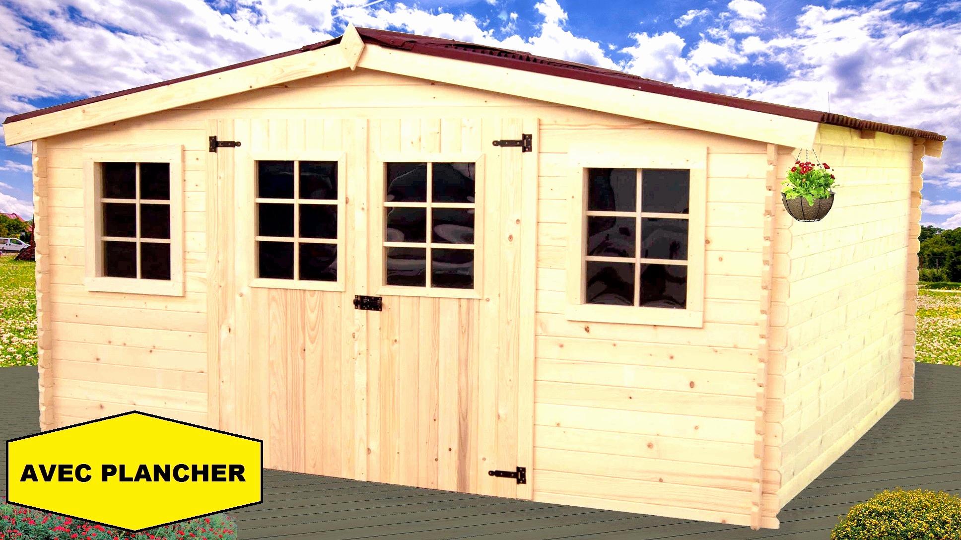 Abri De Jardin Brico Depot Élégant Prodigio Porte De Garage ... pour Abri Jardin Bois Soldes