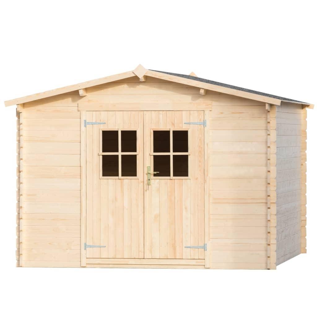 Abri De Jardin/cabane 28 Mm 3 X 3 M Bois - 42023 avec Abri De Jardin En Longueur