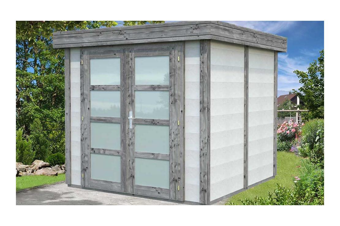 Abri De Jardin Emma Bois-Béton - 4M² Intérieur à Abri De Jardin Beton