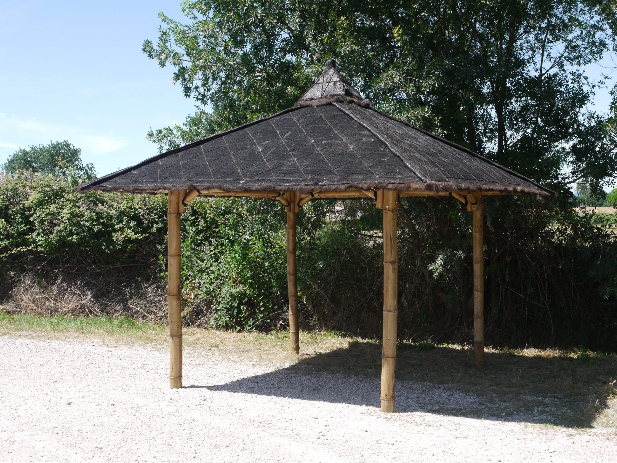 """Abri De Jardin En Bambou """"riau"""" avec Abri Jardin Bambou"""