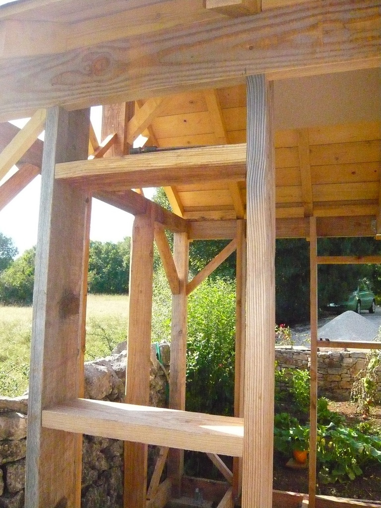 Abri De Jardin En Bois, Cabane De Jardin: La Construction ... tout Fabriquer Un Abri De Jardin