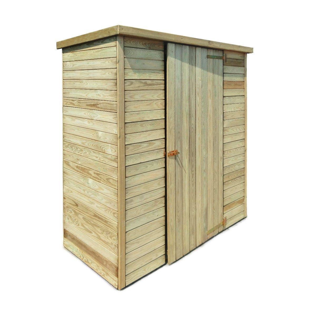 Abri De Jardin En Bois Marie 0.92 M² - Achat/vente D'abris ... à Abri De Jardin Metal Pas Cher