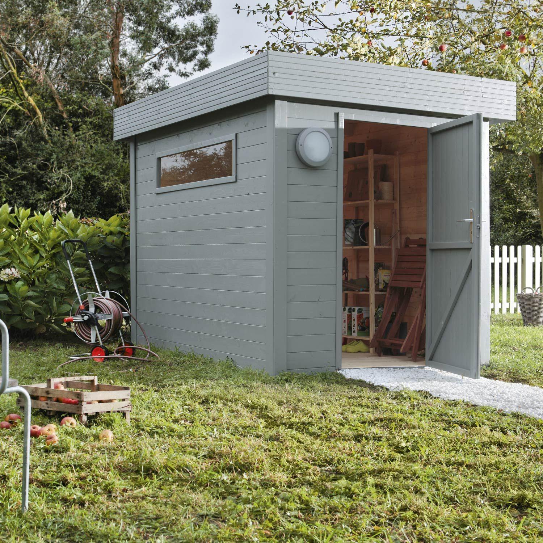Abri De Jardin En Bois Nivala Naterial - Abri De Jardin ... concernant Cabane De Jardin Leroy Merlin