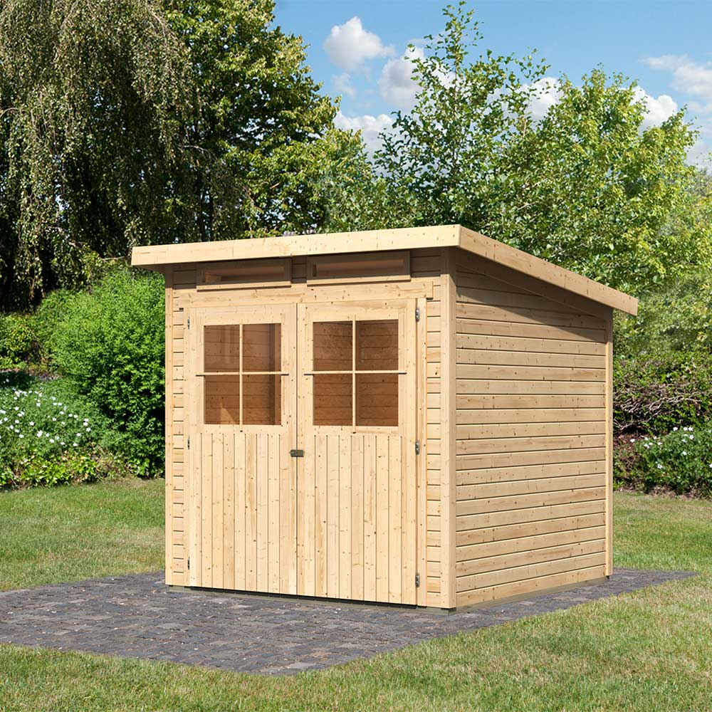 Abri De Jardin En Bois Pas Cher Maison Fo3F189 ... à Abri De Jardin En Solde