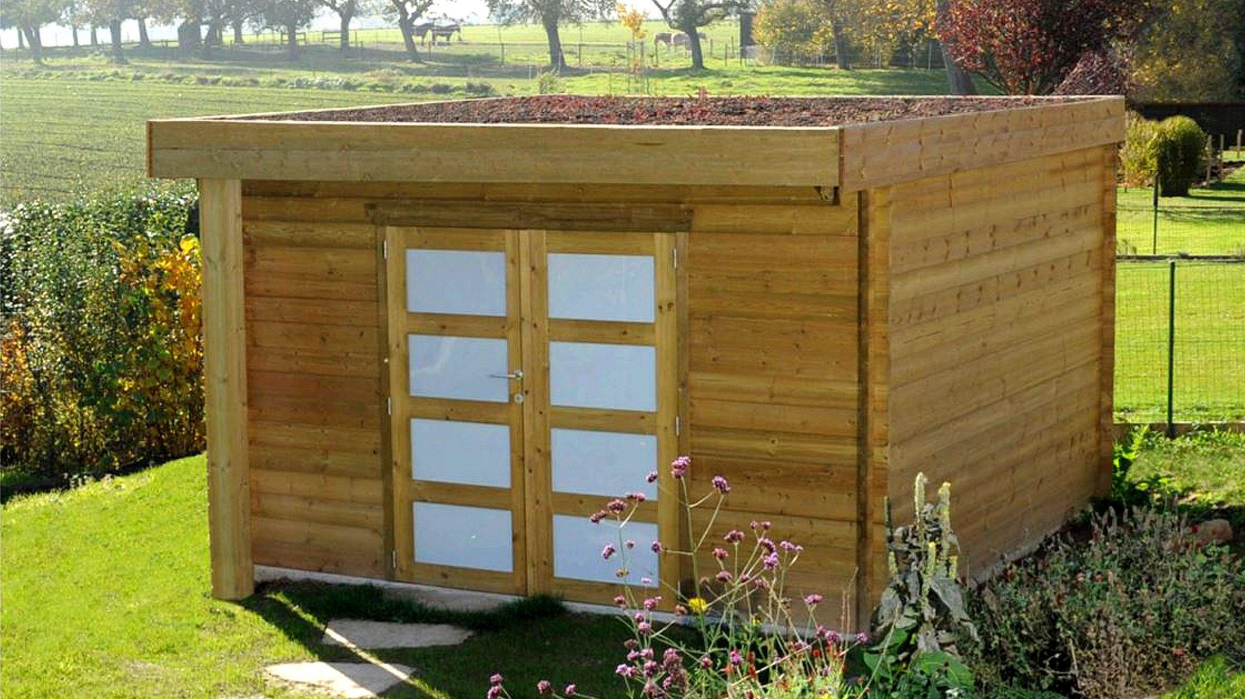 Abri De Jardin En Bois Traité - Abri De Jardin Sur Mesure ... serapportantà Abri De Jardin Sur Mesure
