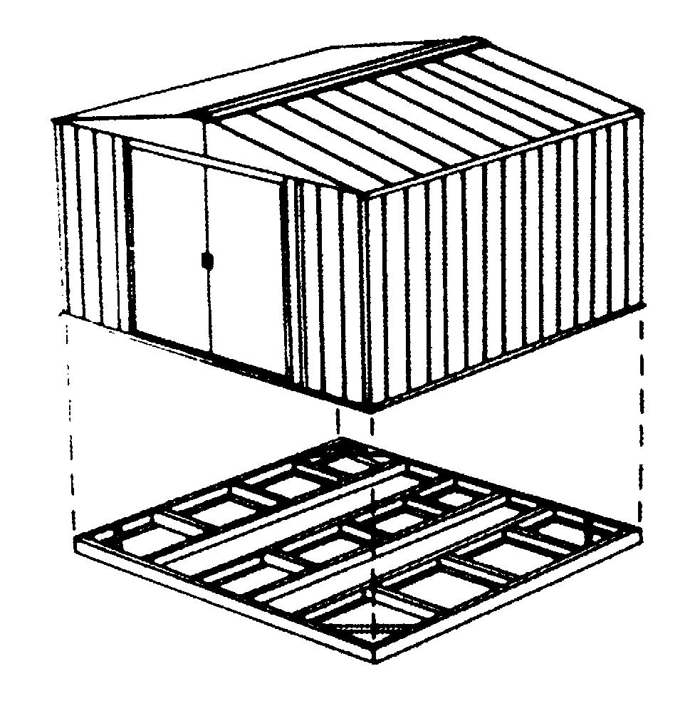 Abri De Jardin En Kit Concept - Idees Conception Jardin serapportantà Fondation Abri De Jardin
