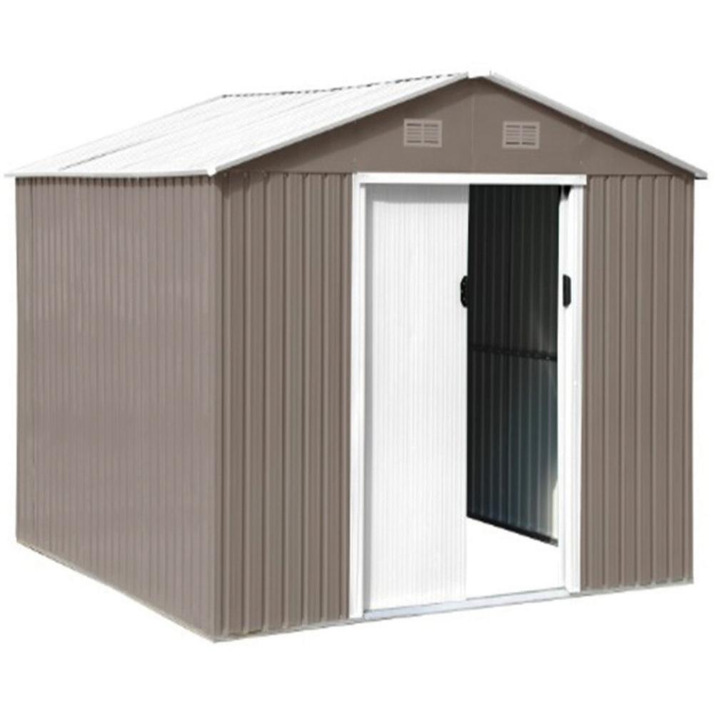 Abri De Jardin En Métal 2,3M² à Cabane De Jardin Metal