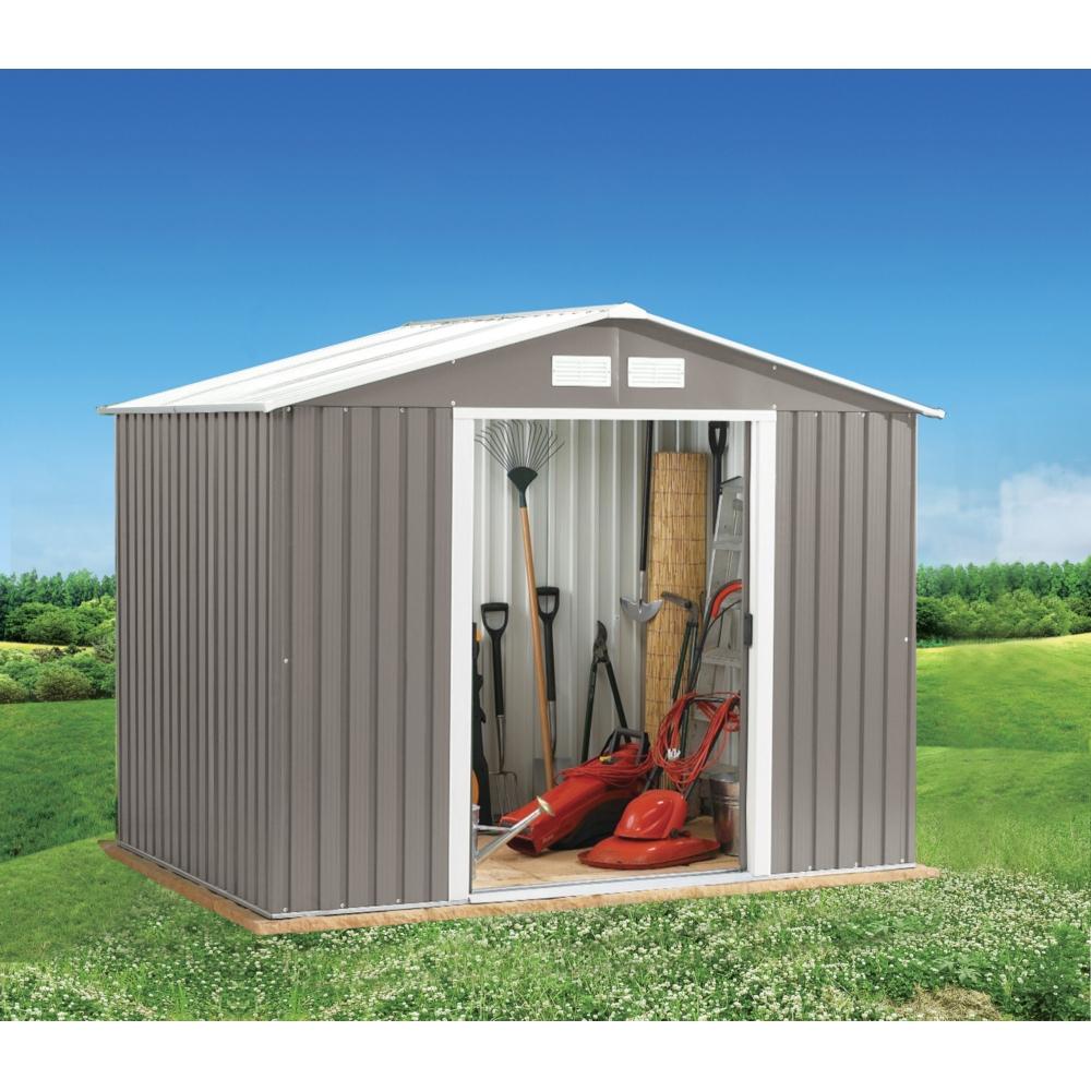 Abri De Jardin En Métal 2,3M² tout Abri De Jardin Aluminium
