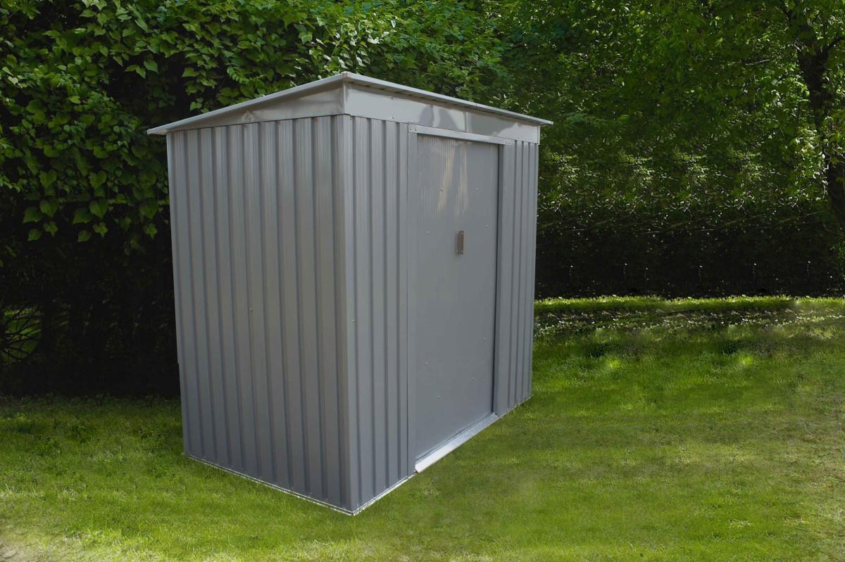Abri De Jardin En Métal 2,43M² Moderne destiné Abris De Jardin En Metal
