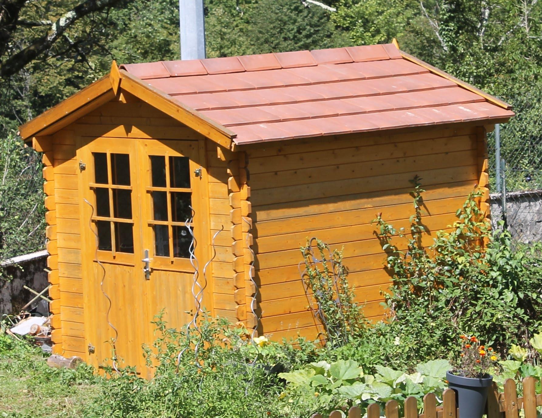 Abri De Jardin En Mtal Malahide Blooma Castorama Intéressant ... intérieur Gouttière Pour Abri De Jardin