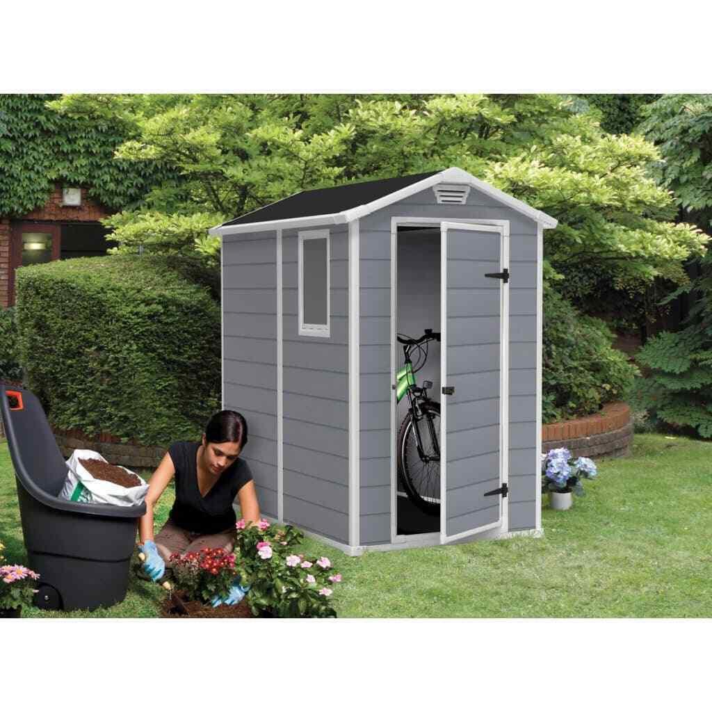 Abri De Jardin En Résine Premium 46S 2.5M² - Keter intérieur Abri De Jardin En Résine Keter