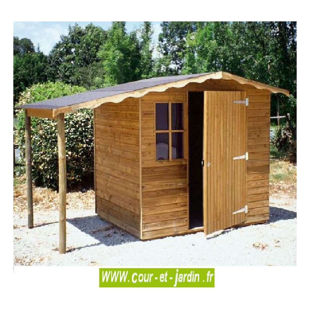 Abri De Jardin Europe 4M² - Abris Et Rangements- Cour Et Jardin dedans Abri De Jardin 4M2