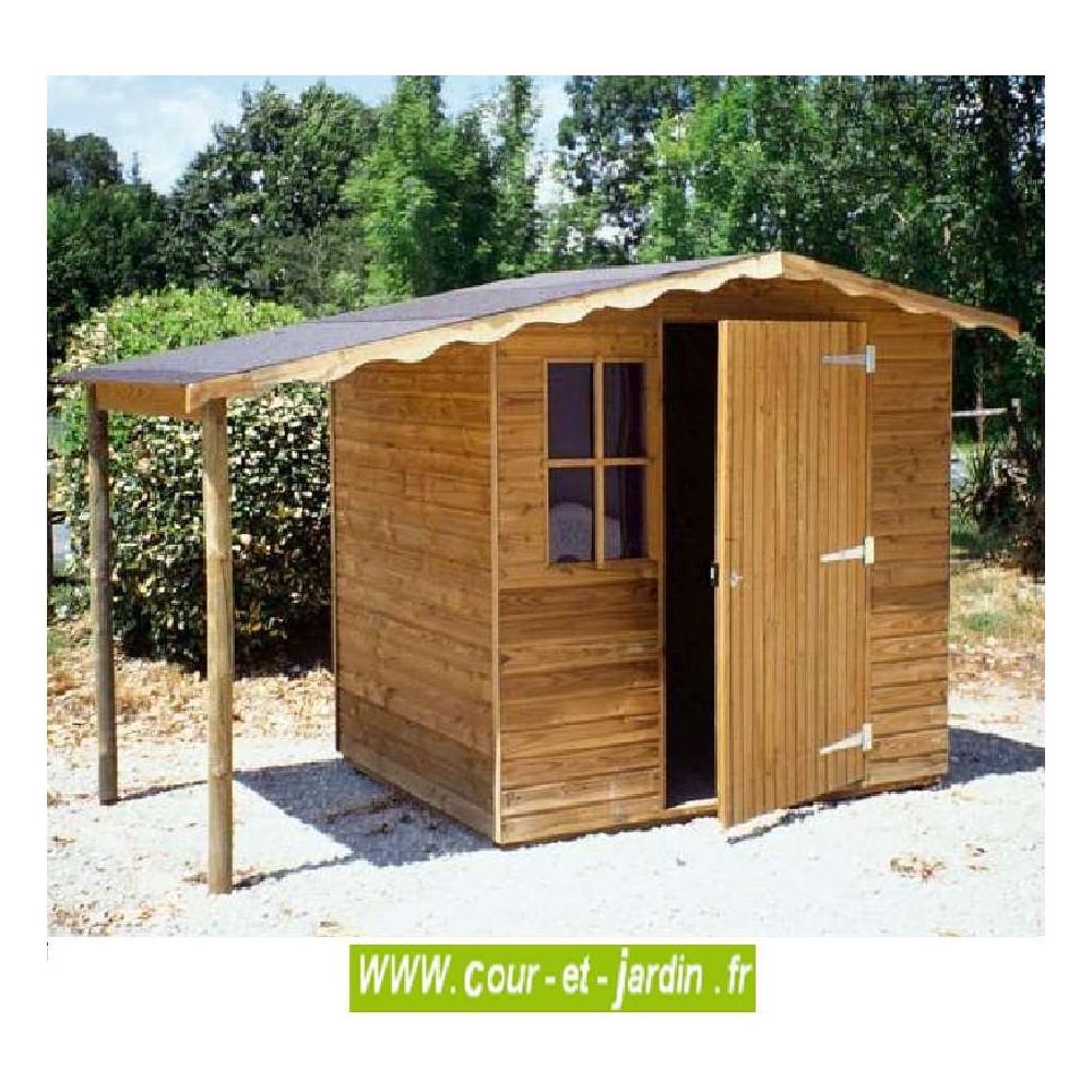 Abri De Jardin Europe 5M² - Abris Et Rangements- Cour Et Jardin à Abri De Jardin Bois 5M2