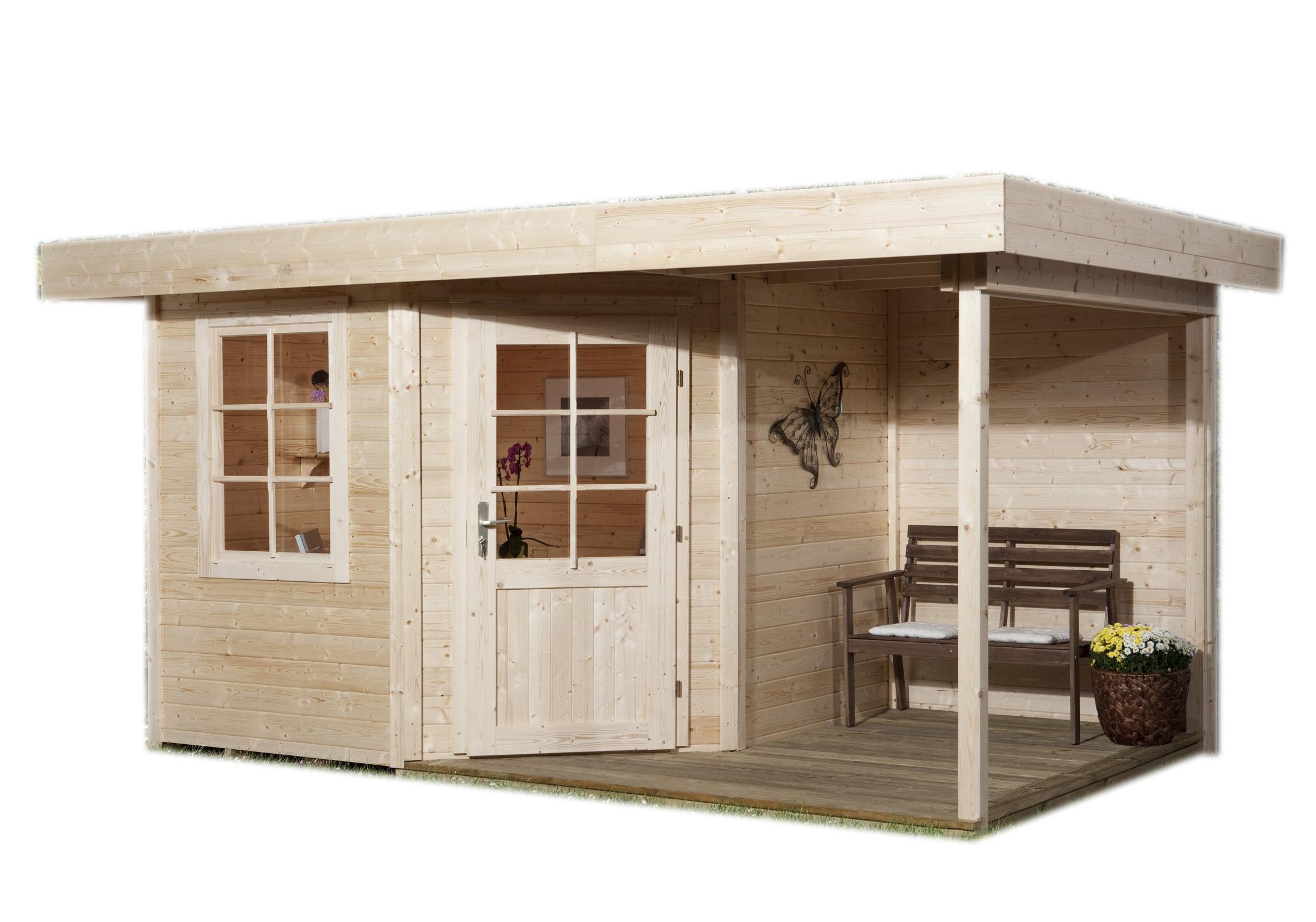 Abri De Jardin Fides 22 Brut Weka - 9,00 M², 300X300 Cm, 28 ... intérieur Abri De Jardin 9M2