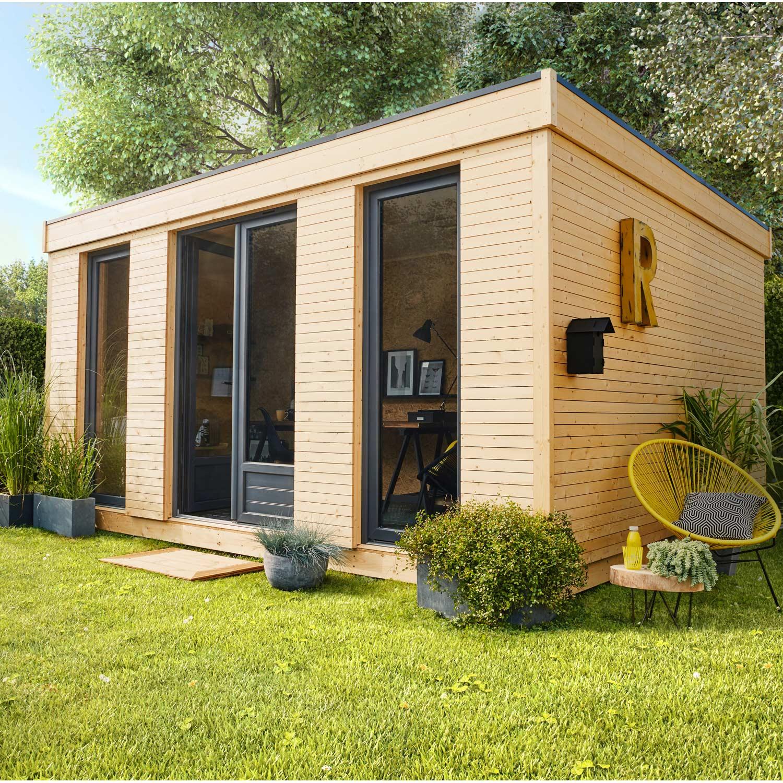 Abri De Jardin Habitable Abri De Jardin Bois Decor Home Ep ... concernant Chalet De Jardin En Bois Habitable