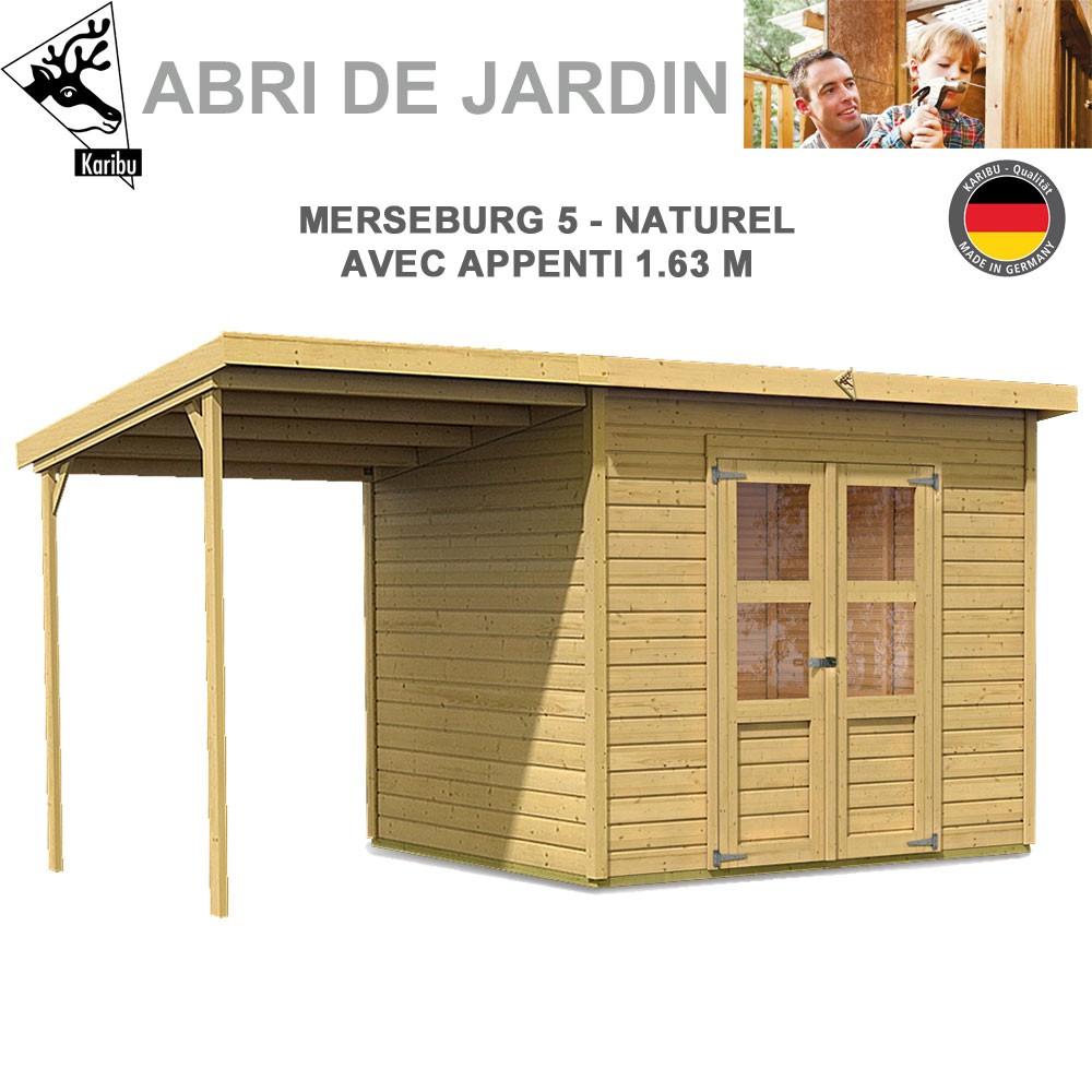 Abri De Jardin Merseburg 5 - 14Mm + Appenti encequiconcerne Appenti De Jardin