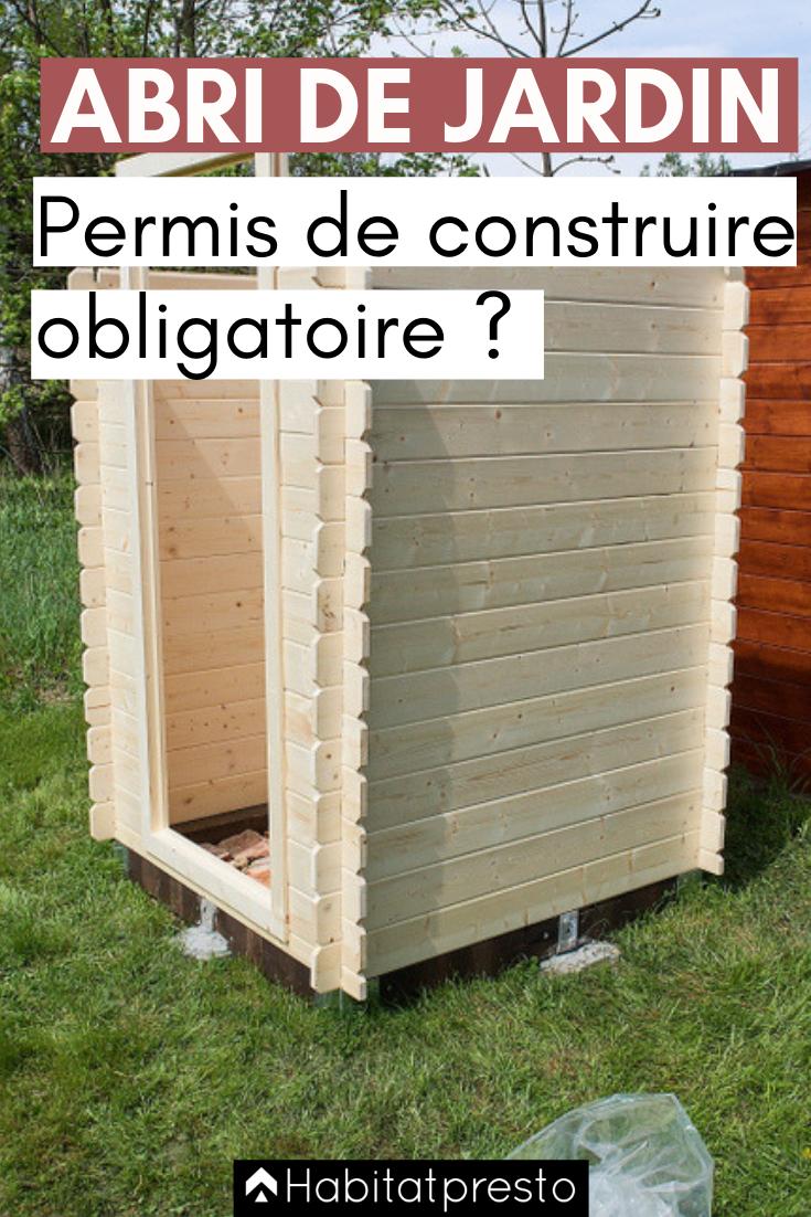 Abri De Jardin : Permis De Construire Obligatoire Ou Non ... avec Abri De Jardin Metal 10M2