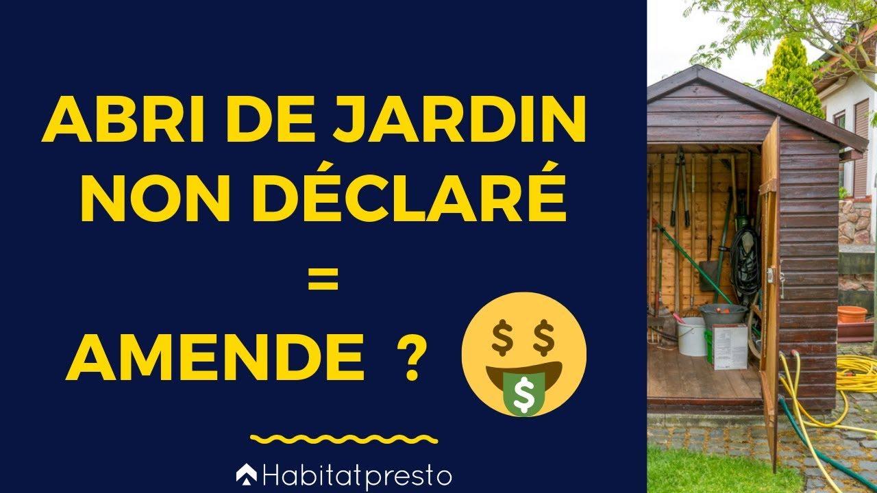 Abri De Jardin : Permis De Construire Obligatoire Ou Non ? destiné Faire Soi Meme Son Abri De Jardin