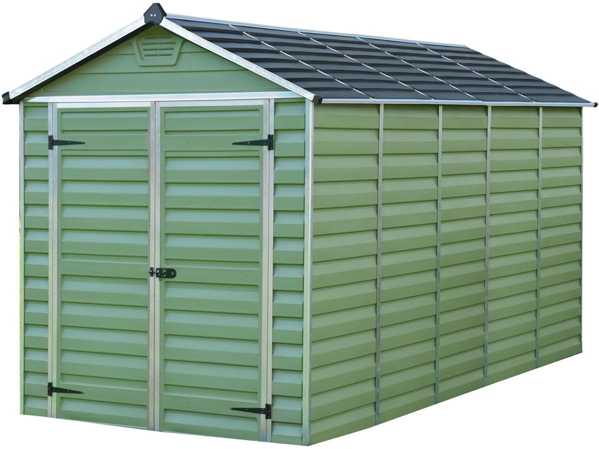 """Abri De Jardin Polycarbonate """"skylight"""" 7M² - Vert 69493 83654 tout Abri De Jardin En Polycarbonate"""