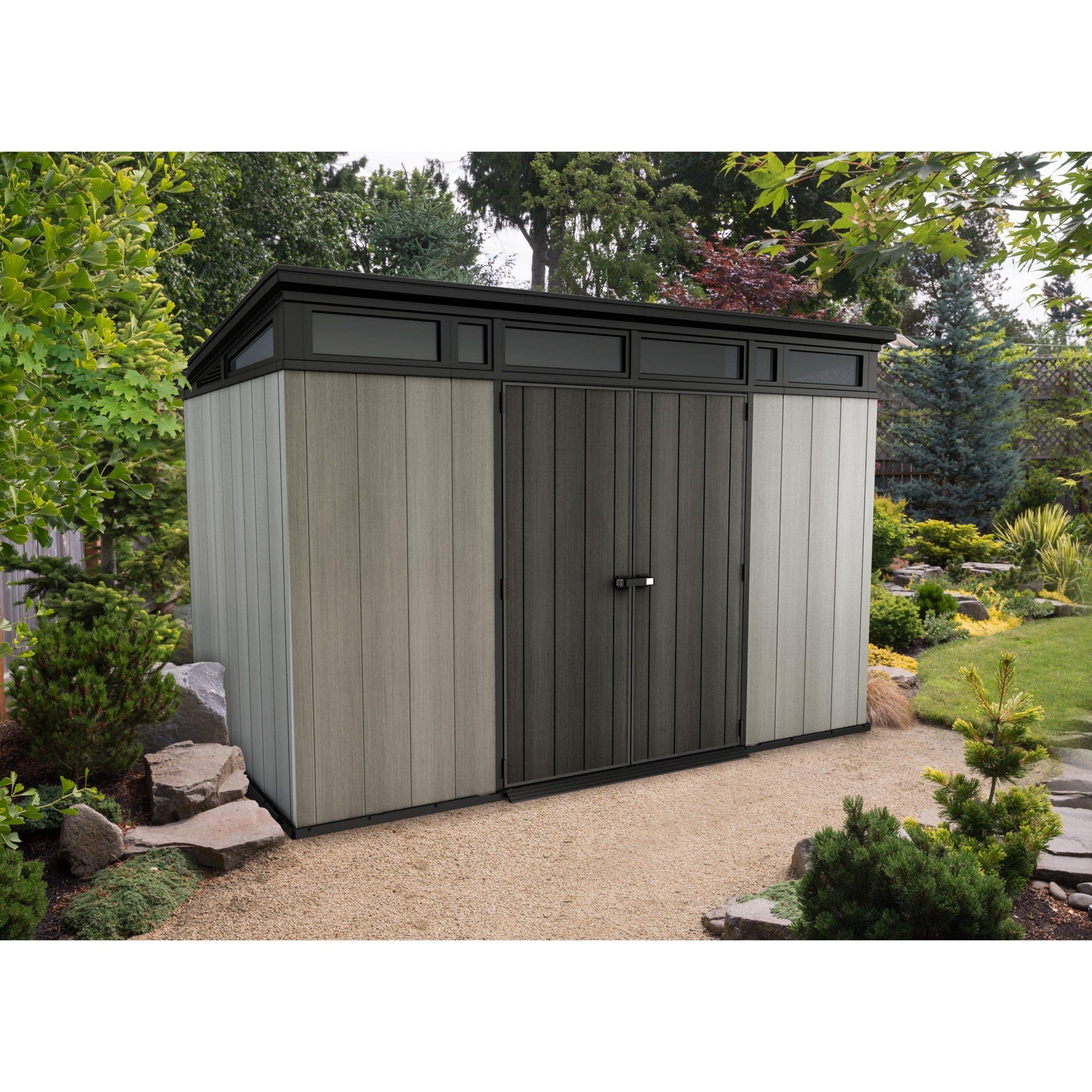 Abri De Jardin Résine Artisan 117 Ep.20 Mm, 6.57 M² Keter ... encequiconcerne Abri De Jardin Super U