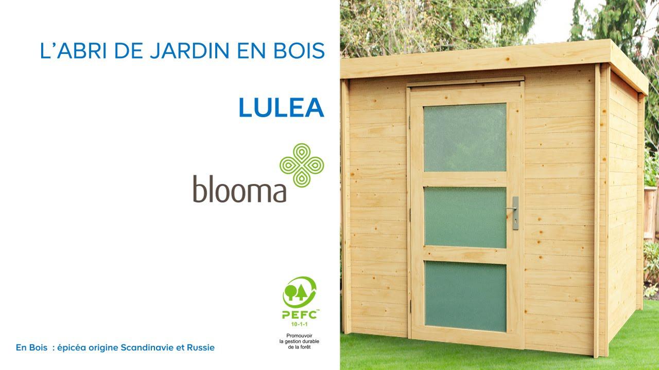 Abri De Jardin Toit Plat Luléa Blooma (676174) Castorama dedans Paravent De Jardin Castorama