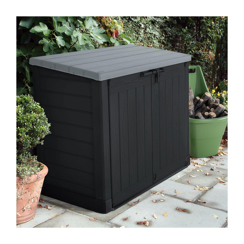 Abri De Rangement Pour Le Jardin En Polypropylene 845L ... destiné Coffre De Jardin Keter