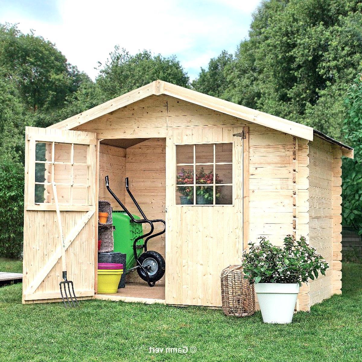 Abri Jardin Bois D'occasion | Plus Que 4 À -60% avec Cabane De Jardin Leroy Merlin