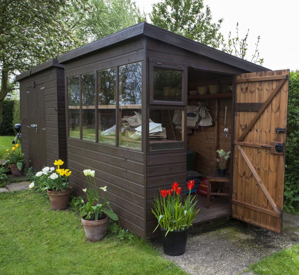 Abri Jardin Monopente Des Idées - Idees Conception Jardin à Abri Jardin Monopente