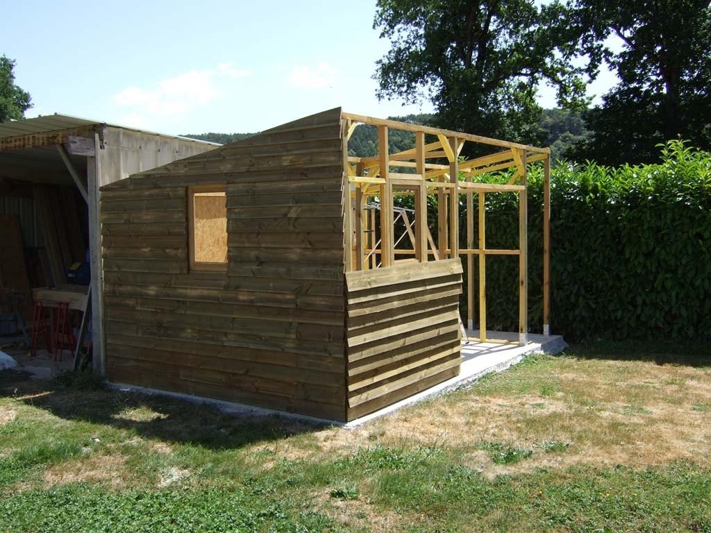 Abri Jardin Monopente Des Idées - Idees Conception Jardin serapportantà Abri De Jardin Monopente