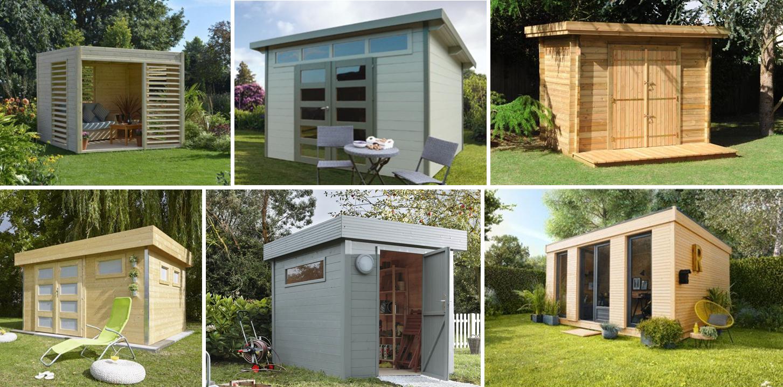 Abri Jardin Monopente Des Idées - Idees Conception Jardin tout Abri De Jardin Monopente