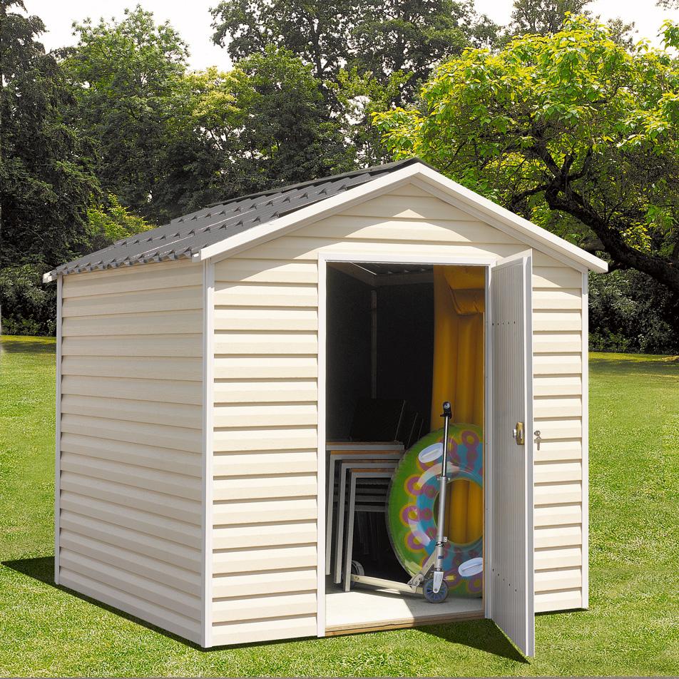 Abri Jardin Pvc – Duam encequiconcerne Cabane De Jardin Occasion