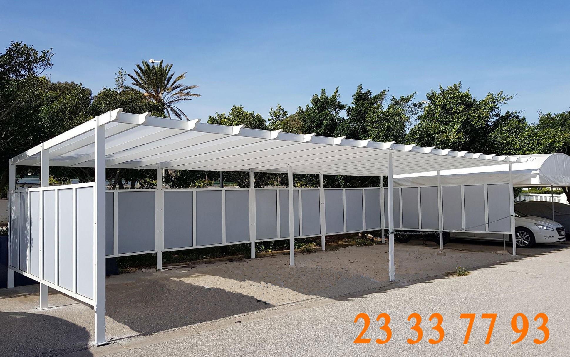 Abri Voiture - Alumetal Mezghani avec Abri De Jardin Tunisie