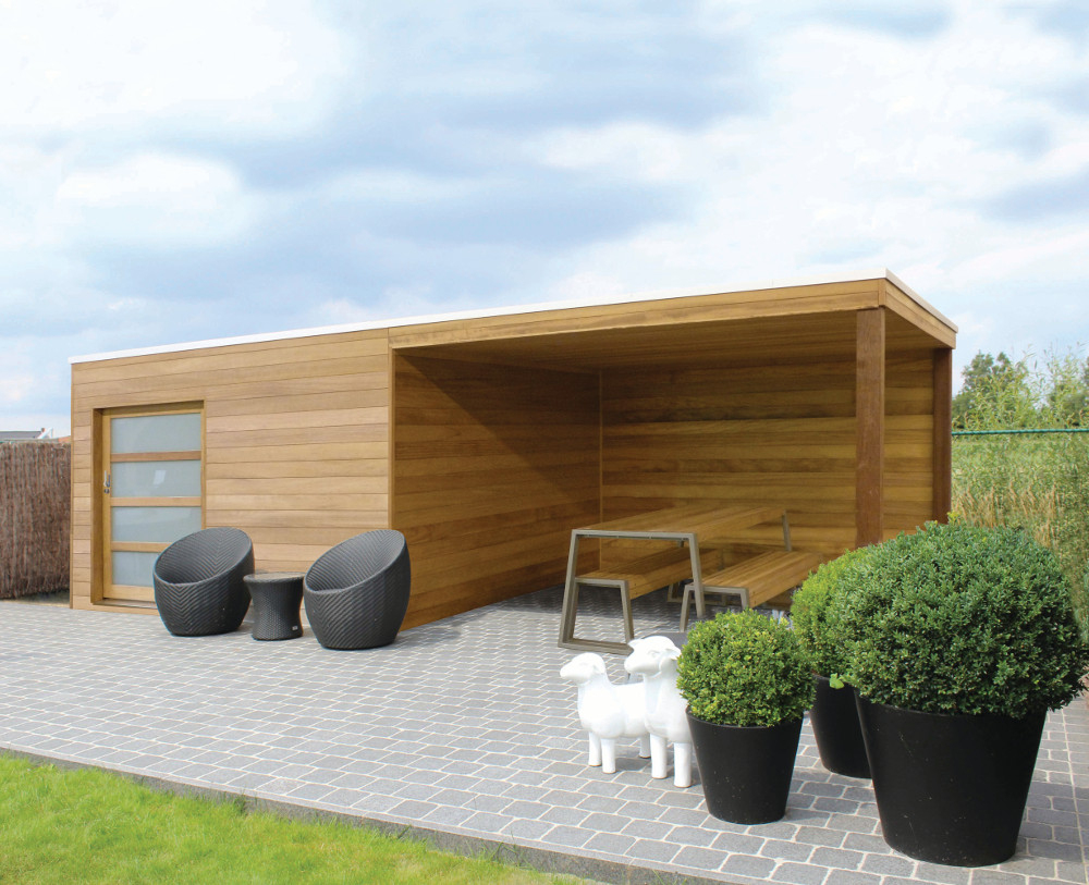 Abris De Jardin Aménageables Sur Mesure À Namur serapportantà Abri De Jardin Fabricant