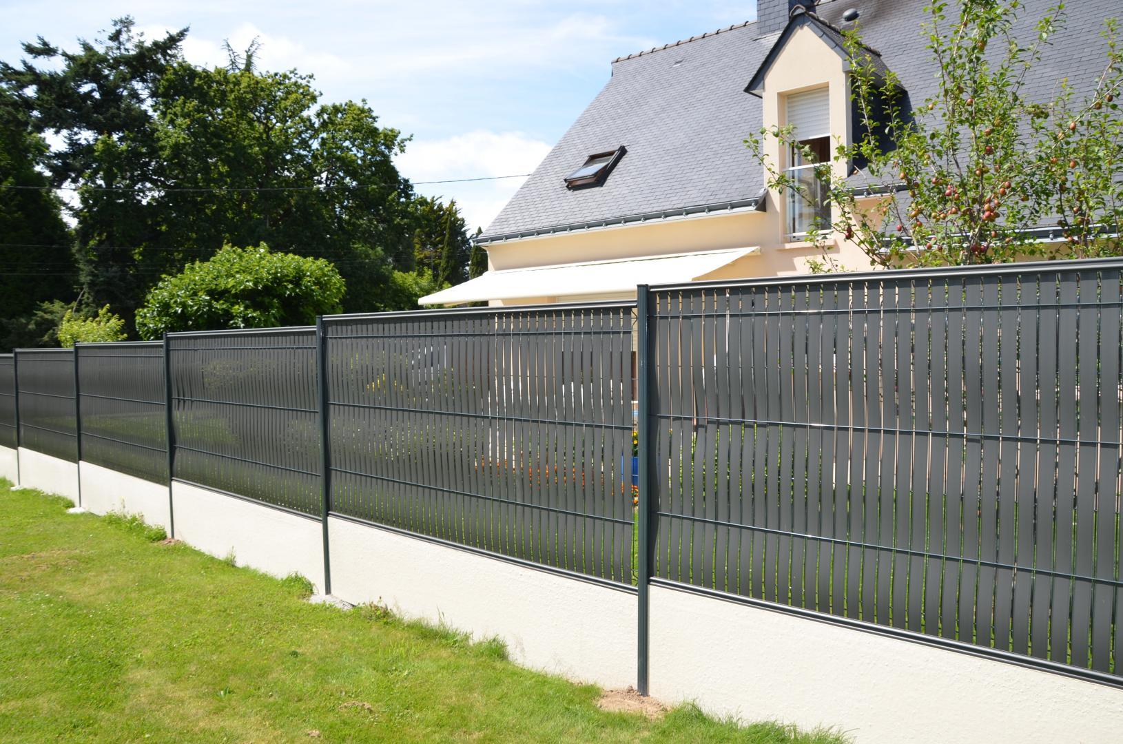Abris De Jardin, Marzan, Redon, La Roche Bernard ... à Protection Cloture Jardin