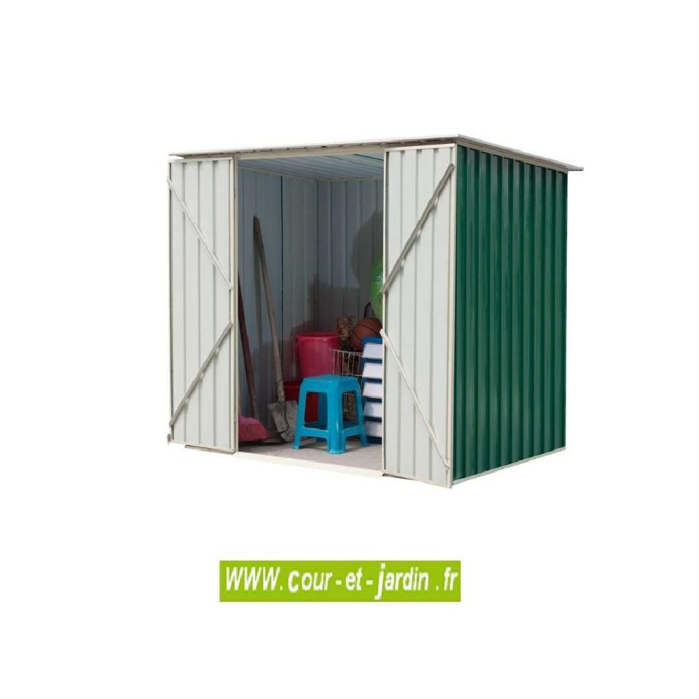 Abris Jardin Métal - Dimensions Au Choix - Cour Et Jardin à Abri De Jardin Metal Pas Cher