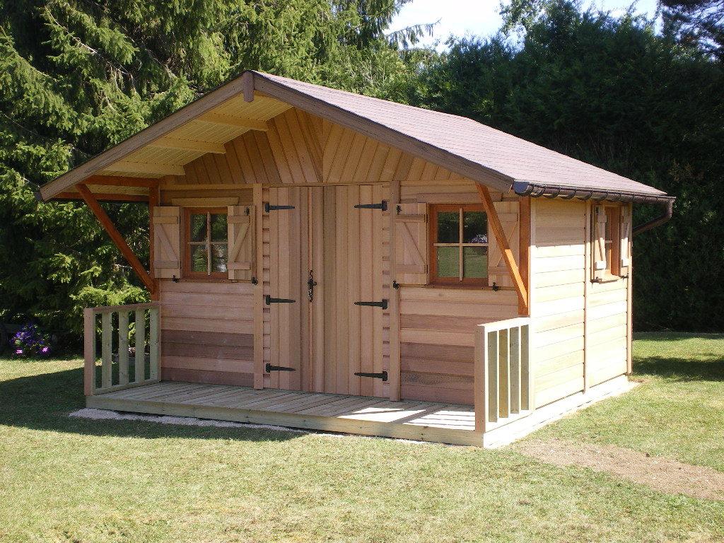 Acheter Abris De Jardin En Bois Red Cedar Pas Cher| Cerisier intérieur Maisonnette Jardin Pas Cher