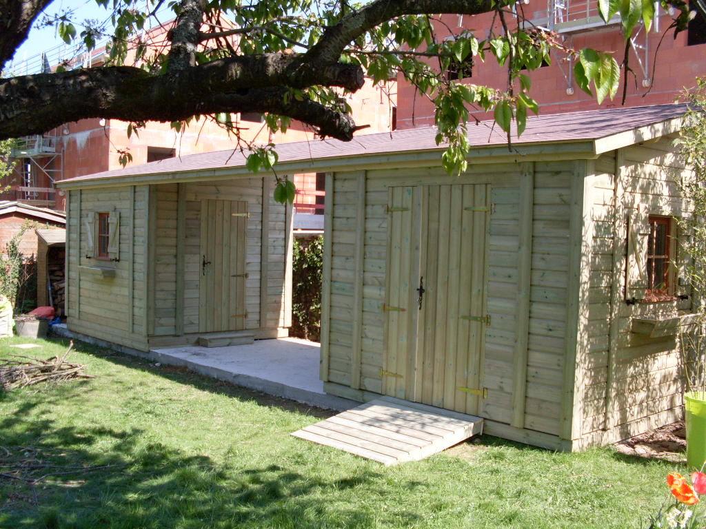 Acheter Abris De Jardin Sur-Mesure / Personnalisé | Cerisier encequiconcerne Abri De Jardin Sur Mesure