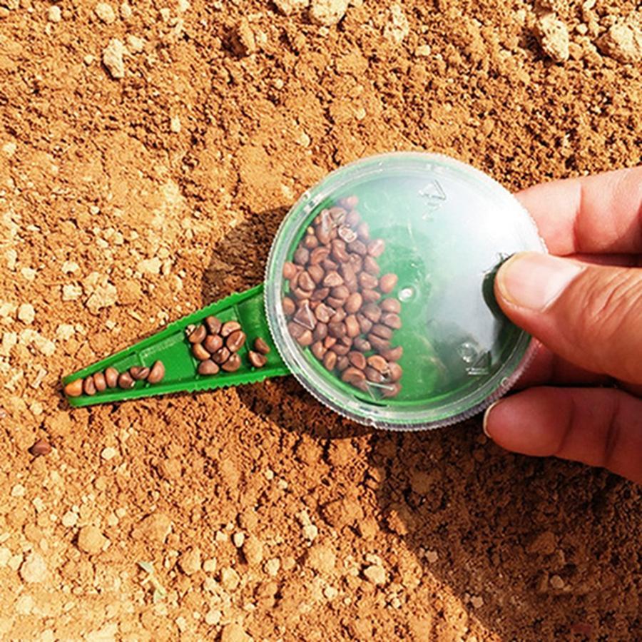 Acheter Commodité 5 Fichiers Réglable Semis Outils De Jardin Semis Semis  Portable Mini Trou Puncher Jardin Plant Semoir Dh0780 T03 De $0.52 Du Besgo  | ... concernant Semoir Jardin