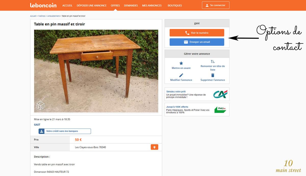 Acheter Sur Le Bon Coin Et Faire De Bonnes Affaires serapportantà Le Bon Coin Mobilier De Jardin