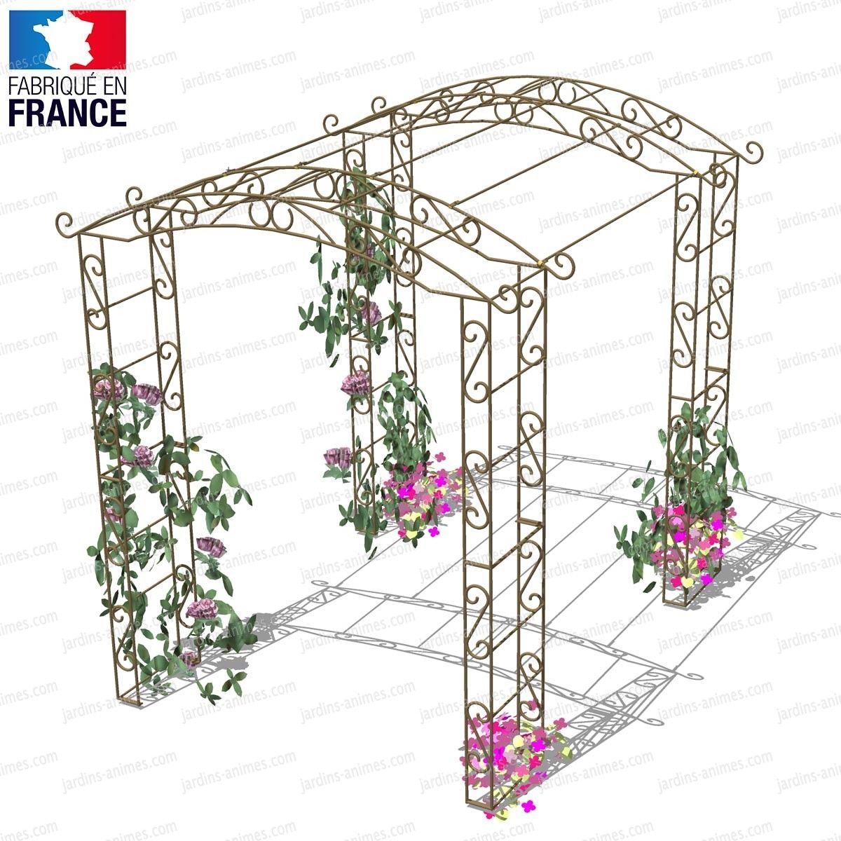 Acheter Tunnel Rosier Grimpantes 4.50M2 À Un Prix Pas Cher ... destiné Arche De Jardin Pas Cher