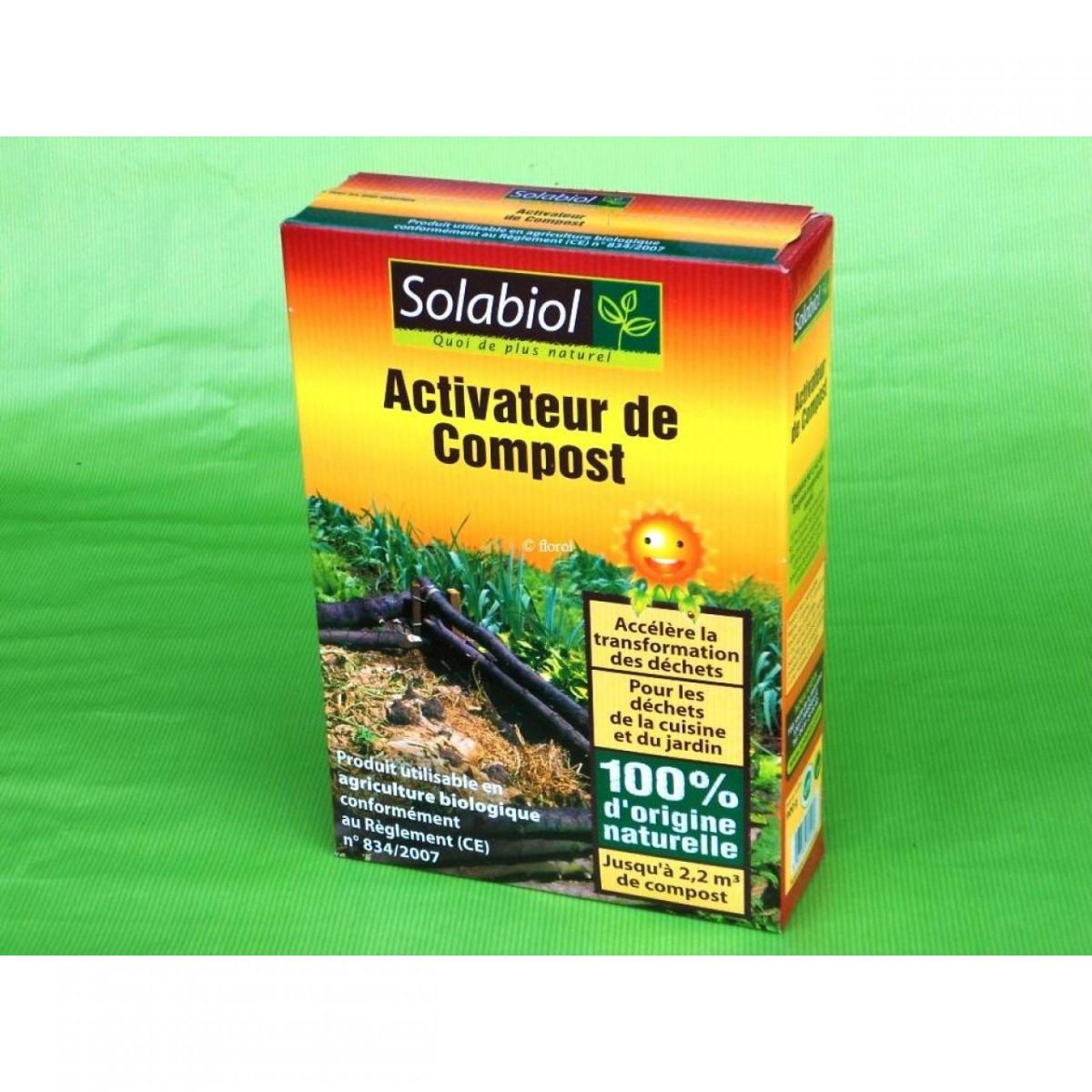 Activateur De Compost Bio, 900 G Solabiol. - Vente Et Achat ... dedans Engrais Bio Jardin