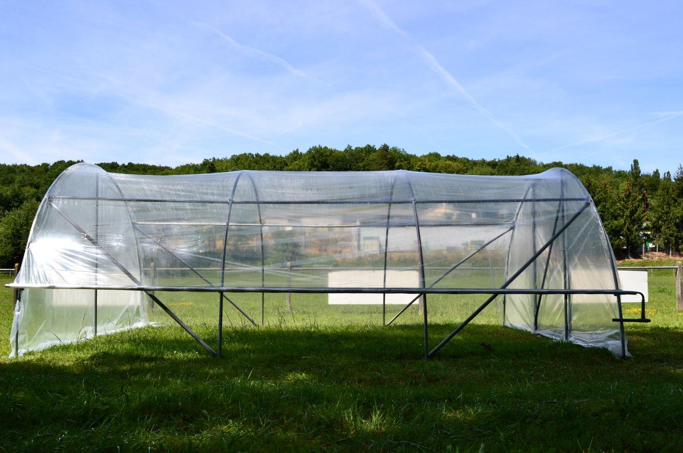 Aération Latérale Pour Serre De Jardin - 1 Côté encequiconcerne Tube Pour Serre De Jardin